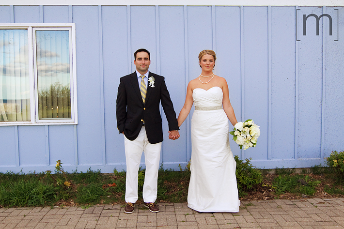 a photo of a bride and groom at erchless estate in oakville