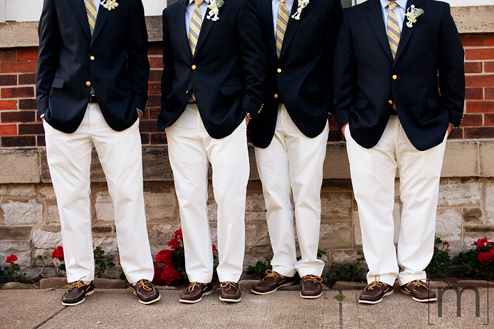 a detail photo of the groomsmen at erchless estate in oakville