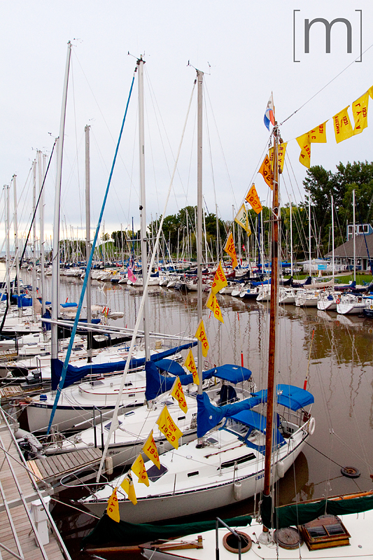 a photo of boats in the dock at the oakville club