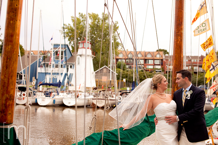 a photo of couple on a boat at the oakville club