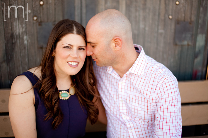 a photo of a cute couple eng shoot at wychwood barns