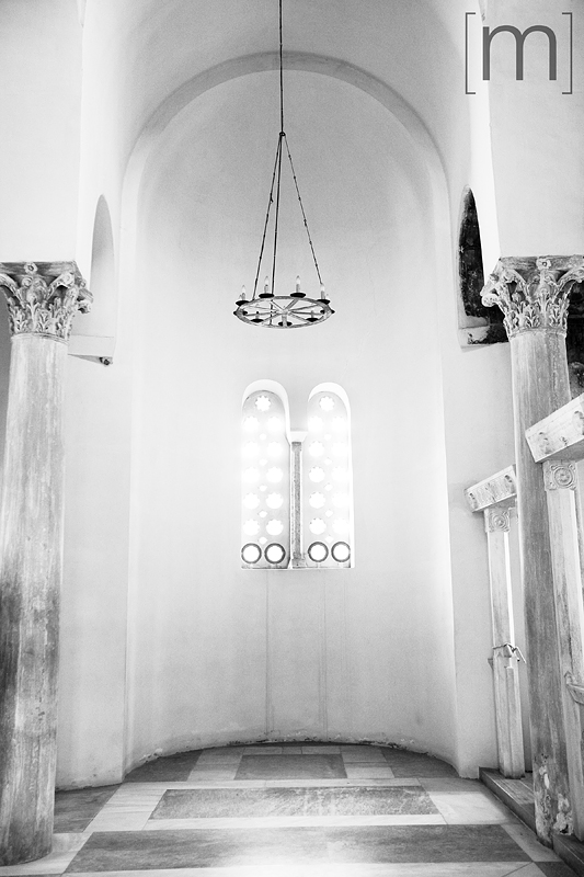 a travel photo of a church in athens greece