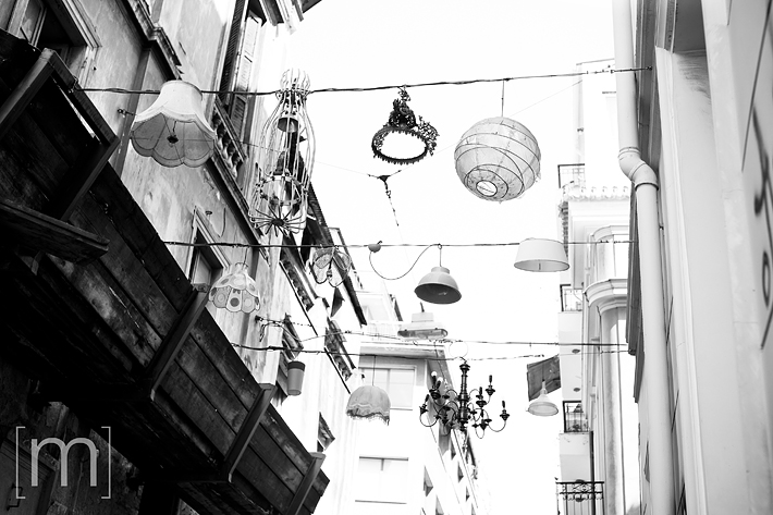 a travel photo of light fixtures in athens greece