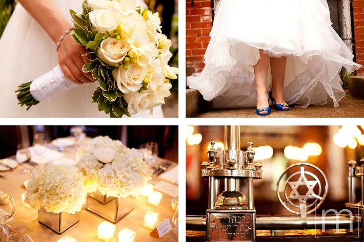 a photo of the wedding details at pangaea restaurant toronto