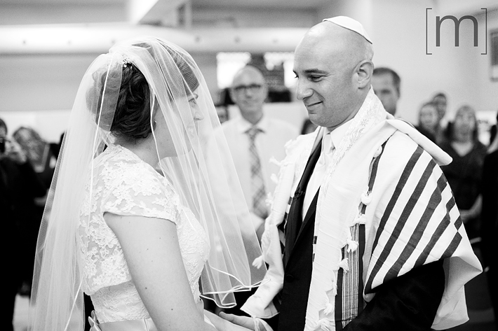 a photo of the jewish ceremony veiling at kiever shul toronto