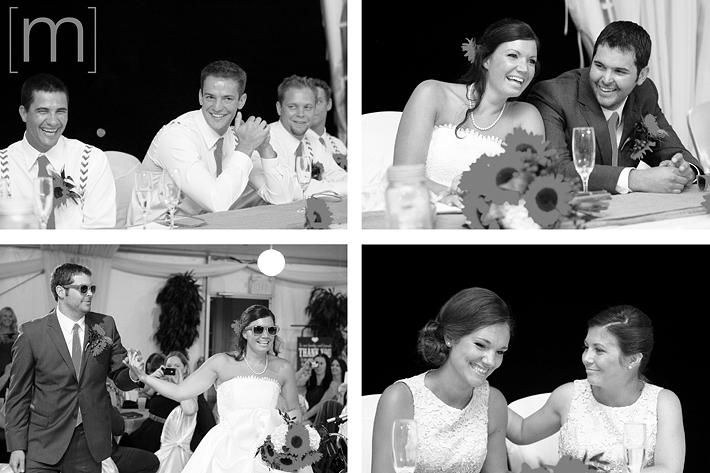 a photo of reception candids at a wedding at wooden sticks uxbridge