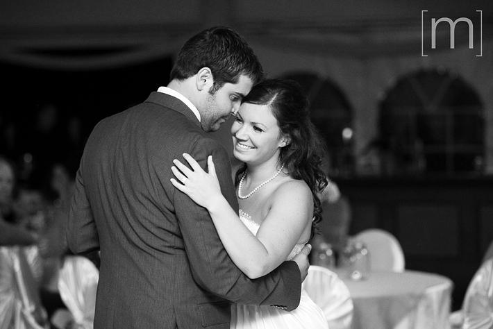 a photo of the first dance at a wedding at wooden sticks uxbridge