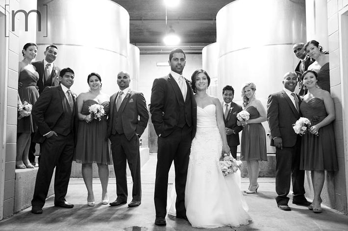 wedding_photography_notl_chateau_des_charmes_wedding_party_wine_cellar