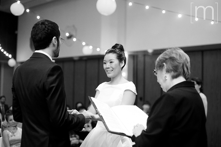 a photo of a ceremony at a wedding at beverley halls toronto