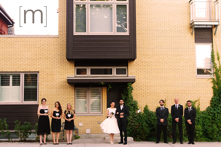 a photo of the wedding party at the university of toronto