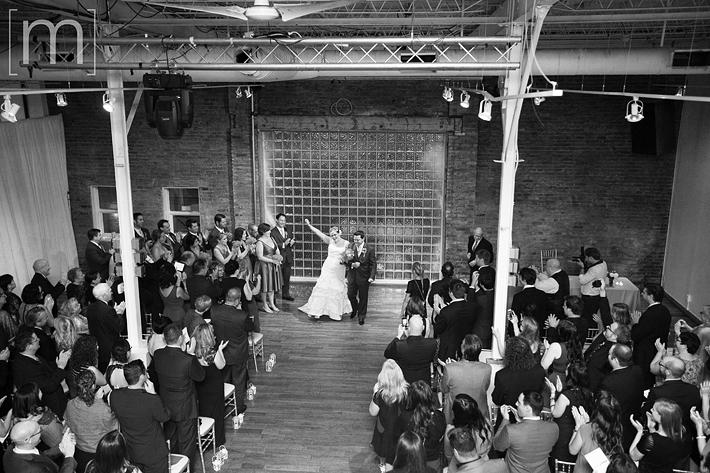 a photo of a wedding ceremony at 99 sudbury toronto