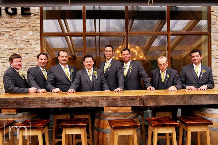 a photo of the groomsmen at a wedding at 99 sudbury toronto