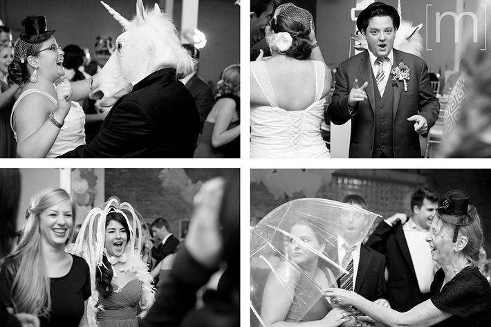 a photo of the reception at a wedding at 99 sudbury toronto