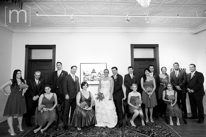 a photo of the wedding party at the gladstone hotel toronto