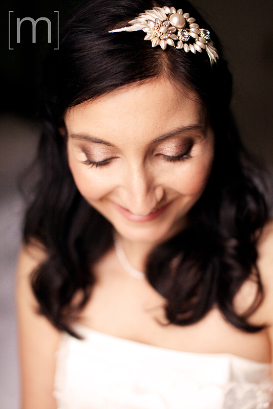 a bridal portrait at a wedding at king edward hotel toronto