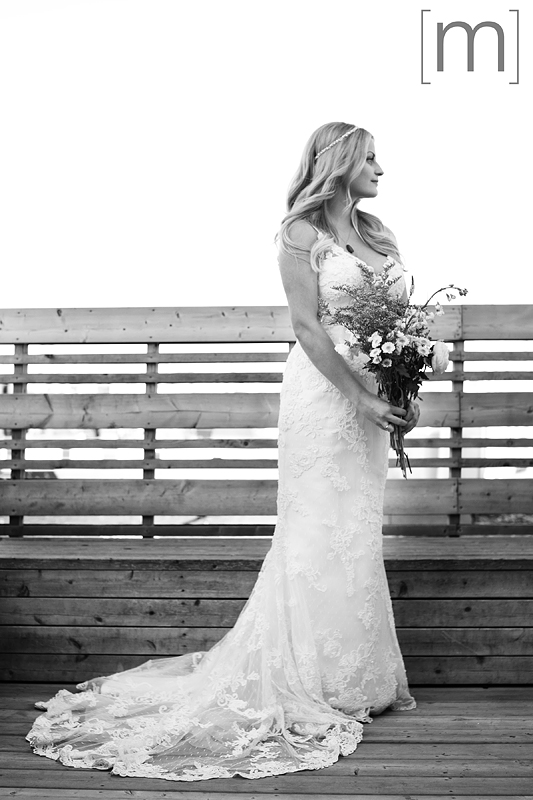 a photo of a bride on the roof at a wedding at the gladstone hotel toronto
