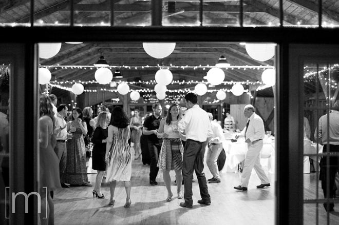 a photo of reception dancing at a wedding at buffalo canoe club fort erie